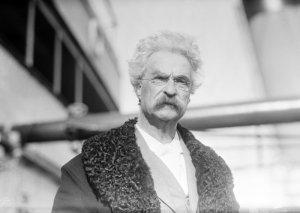Mark Twain in 1909
