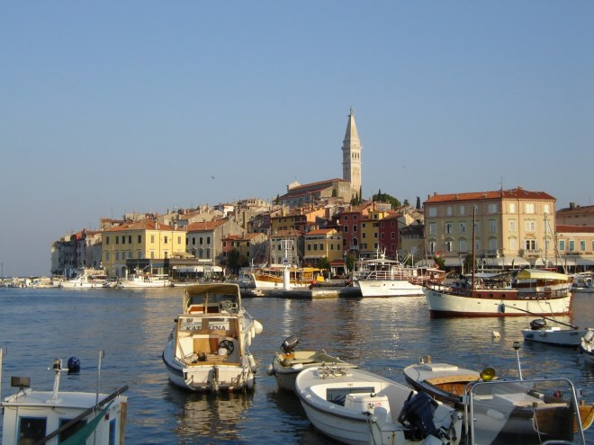 Rovinj waterfront, Croatia