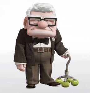Angry Carl Fredricksen