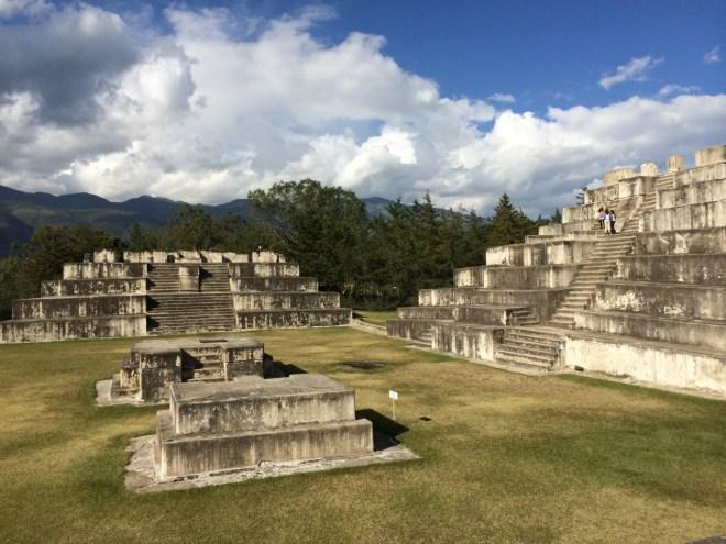 Zaculeu pyramid complex