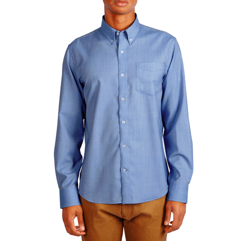 5 great merino wool dress shirts for staying comfy and for Wool button down shirt