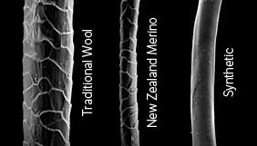 Merino Wool Fiber Comparison