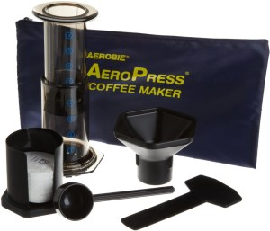Aeropress Portable Coffee Maker Travel Kit
