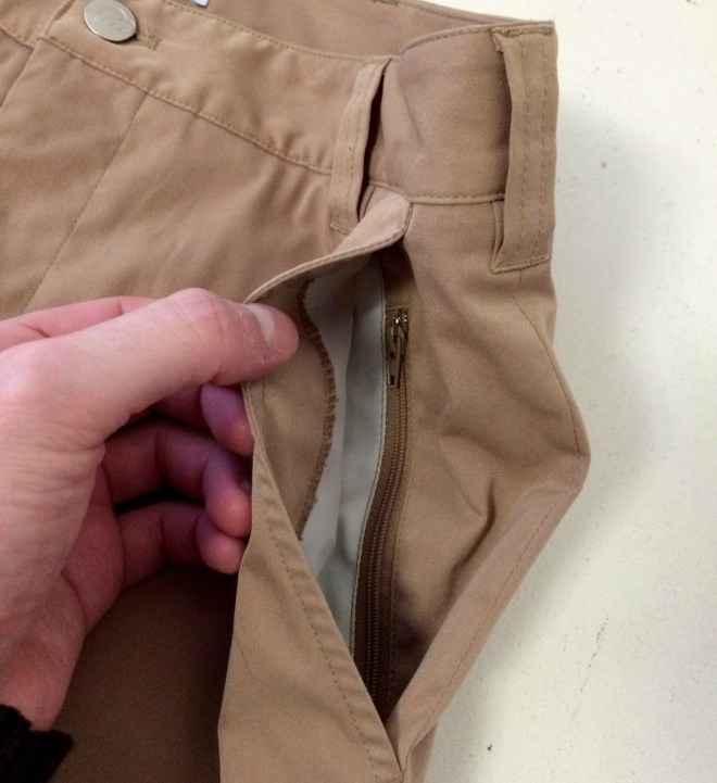 Bluffworks Chino Front Left Pocket