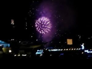 Fireworks in Ukraine