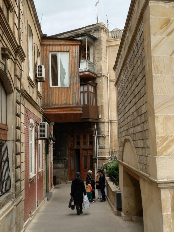 Baku old town side street