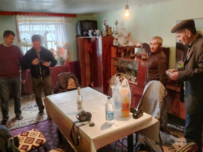Khinalug house interior