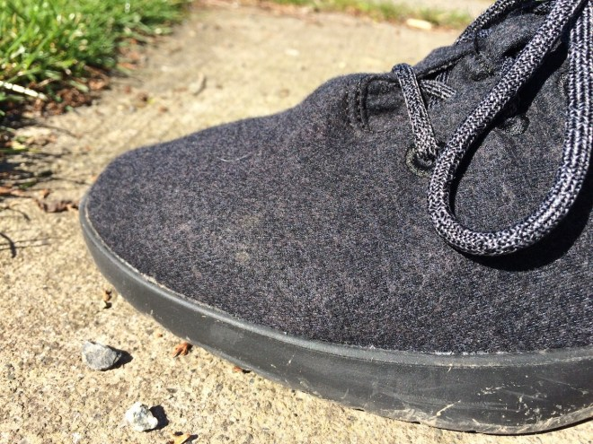 Allbirds bubble effect closeup