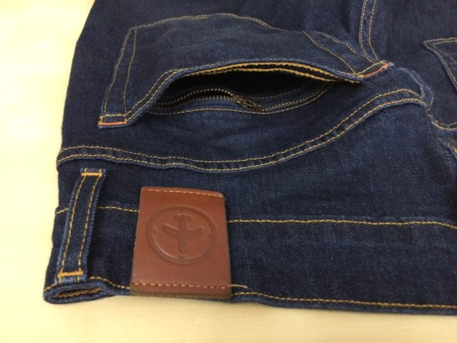 Aviator USA Jeans back hidden pocket alternate view