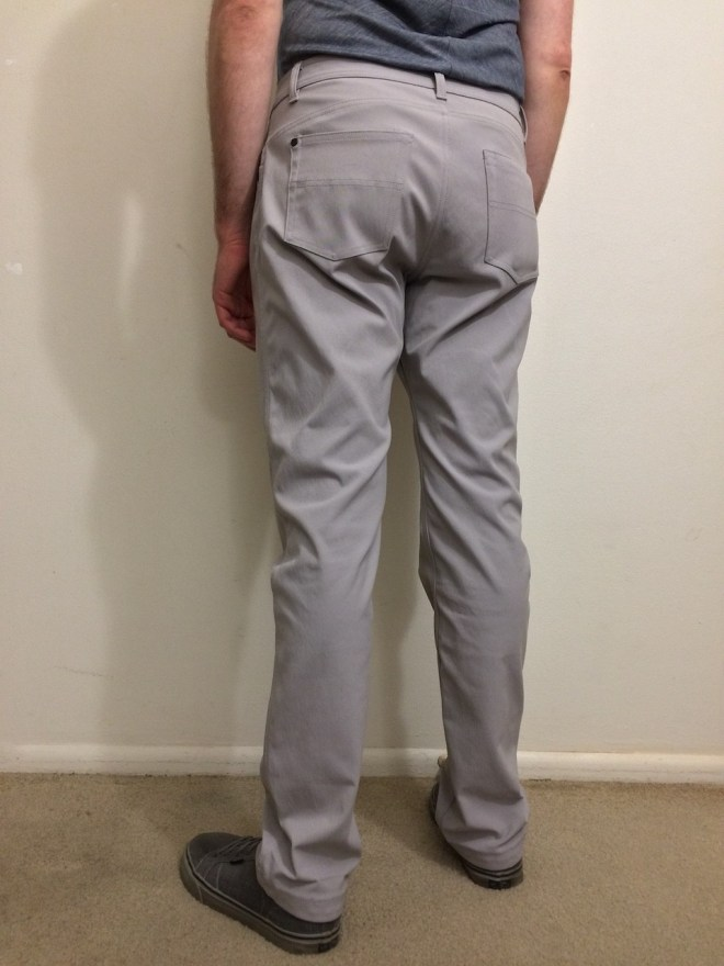 Western Rise AT Slim Rivet Pant worn back