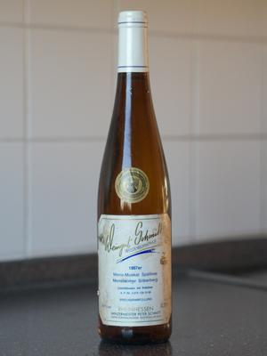 1997 Monsheimer Silberberg Morio-Muskat Spätlese