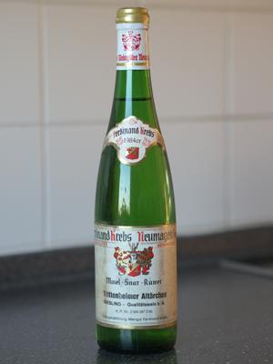 1984 Trittenheimer Altärchen Riesling QbA