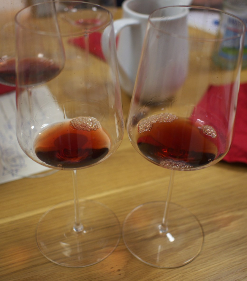Two glasses of Giacosa