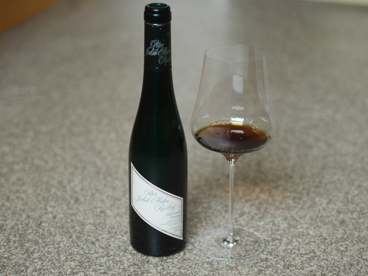 A half-bottle of vintage 2000 Eiswein from Peter Jakob Kühn in Germany's Rheingau