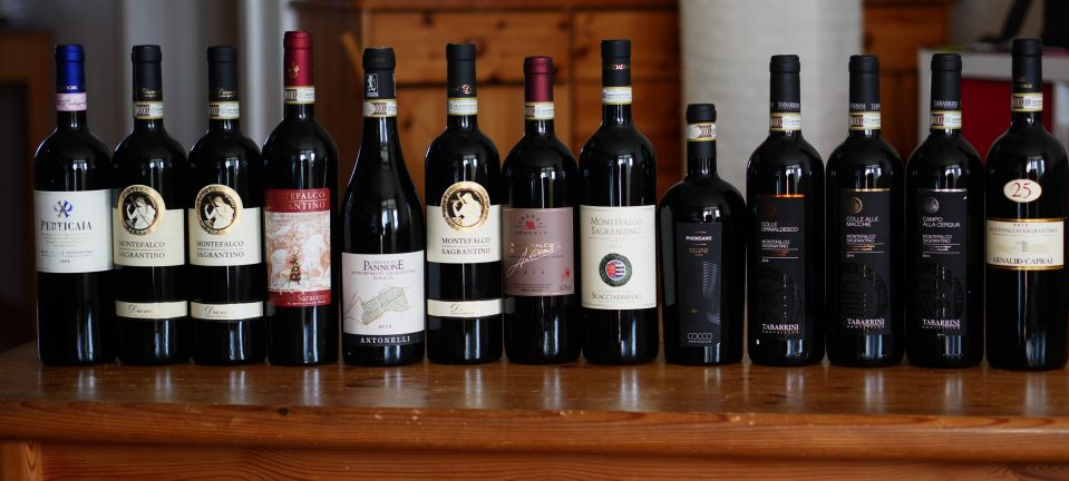 A mighty Sagrantino lineup
