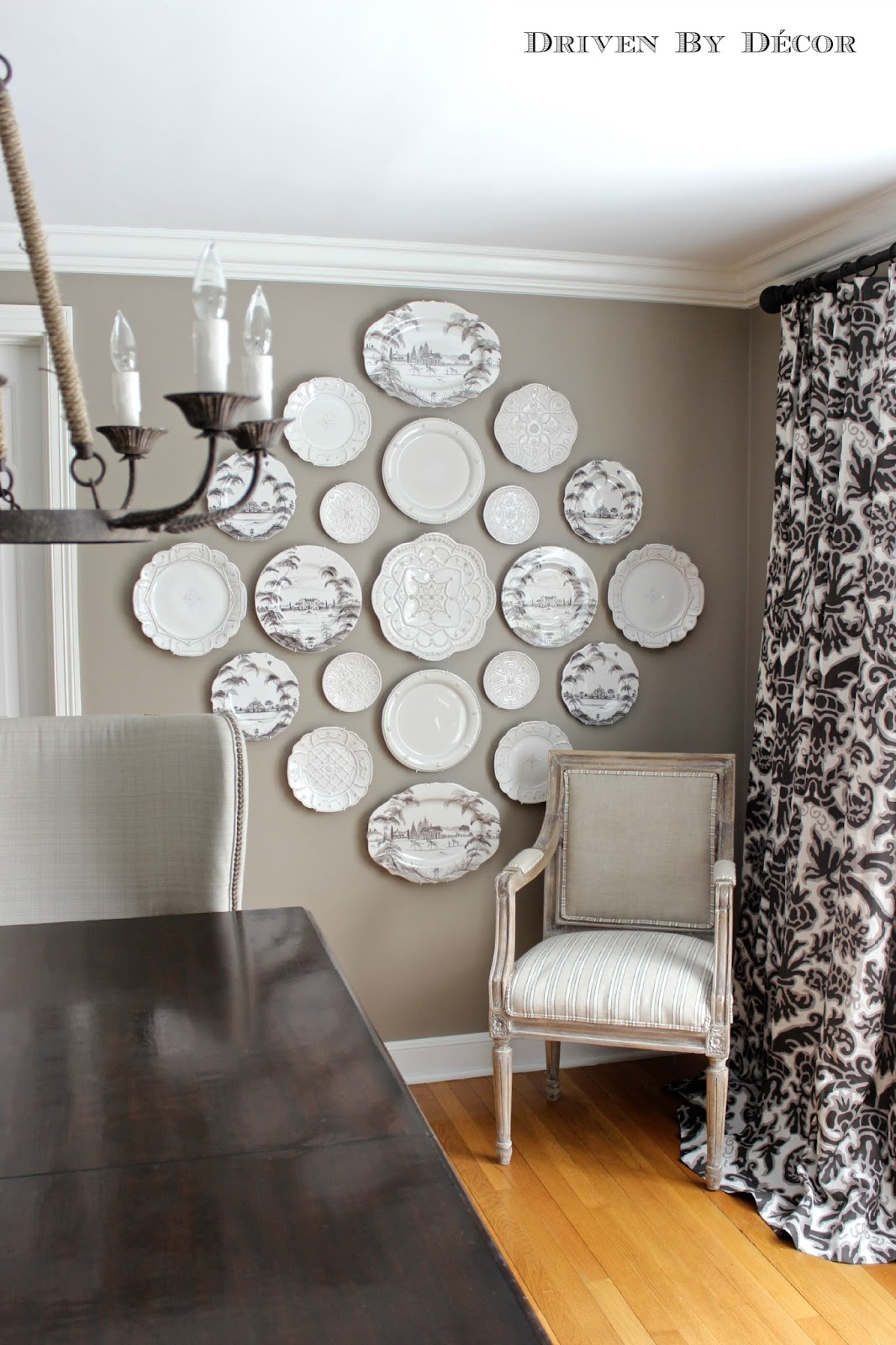 Five Rustic Glam Dining Rooms