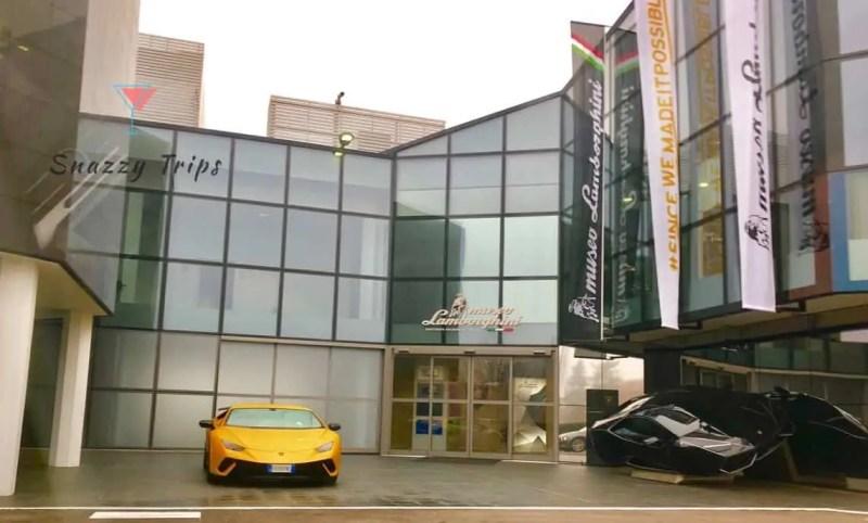 Lamborghini headquarters