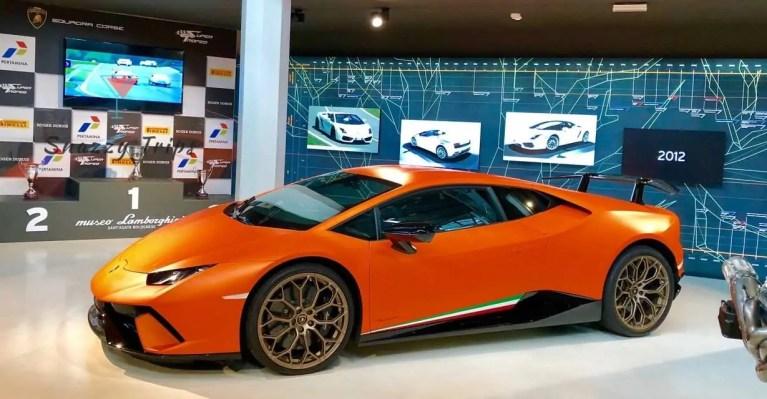 Exclusive Lamborghini Factory Tour