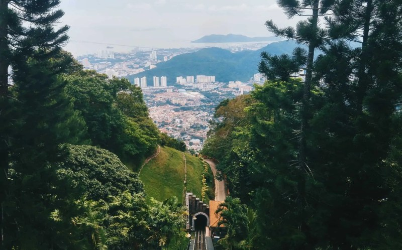 Penang Hill view Snazzy Trips