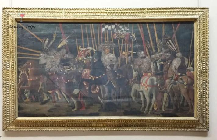 The Battle of San Romano, Paolo Uccello, Italian