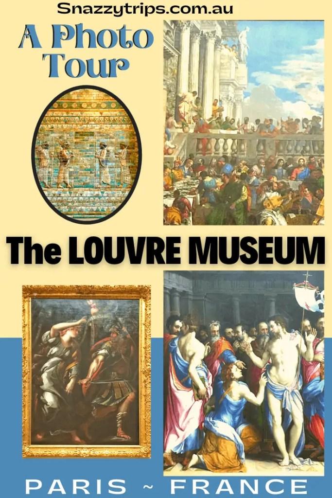 A Photo Tour of the Louvre Museum art Paris France Snazzy Trips