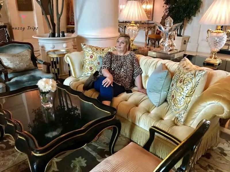 Luxury stay at Leela Palace Delhi