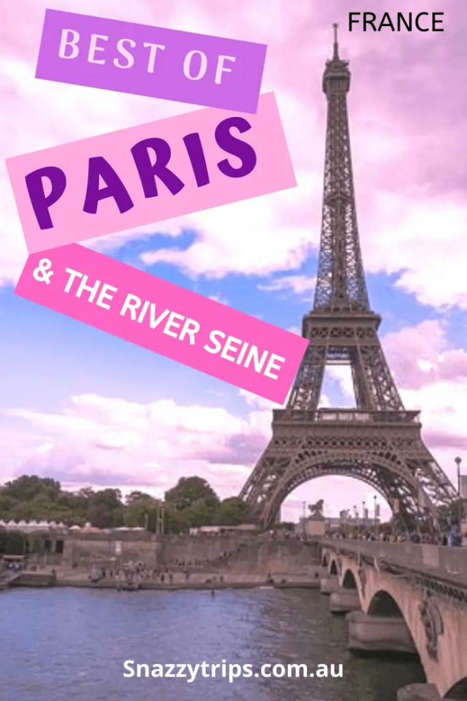 Paris and the River Siene
