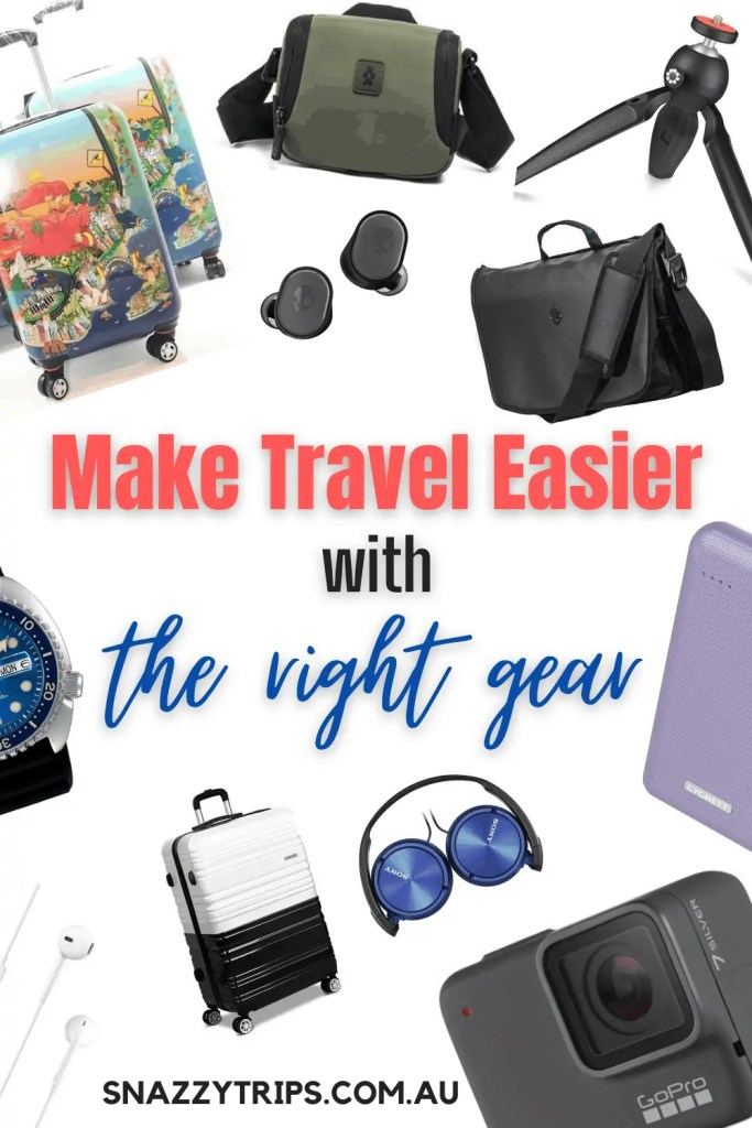 Make travel easier with the right gear travel accessories you actually need Snazzy Trips