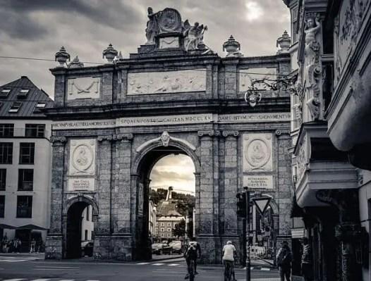 Innsbruck Arch, Austria