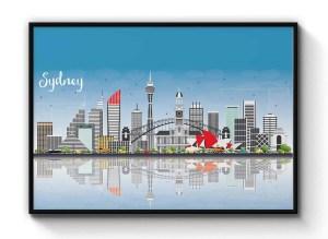 sydney cityscape print e1607313795417 Snazzy Trips
