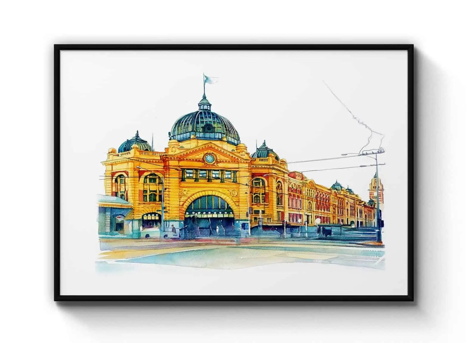 flinders st station print e1607261276433 Snazzy Trips