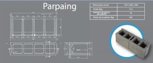 parpaing 150x200x500