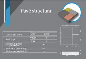 pavé structural 500x500