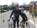 March: Cycling with dad for Sport Relief