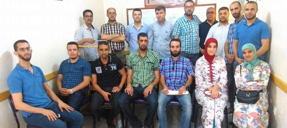 أولى اجتماعات سيكرتارية الشباب المدرس بإقليم الناظور بعد تأسيسها