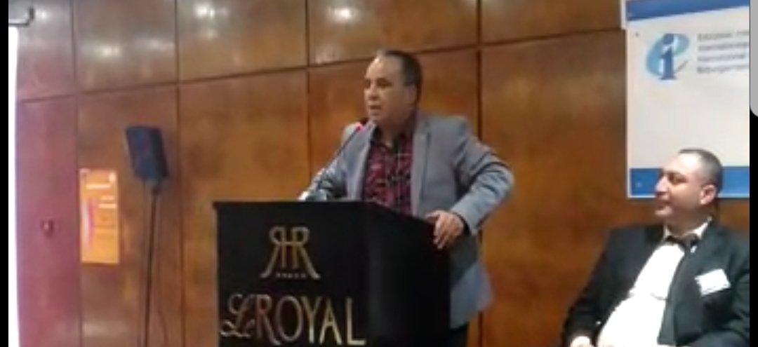 من مداخلات الكاتب العام بالمؤتمر الرابع للدولية للتربية للبنية الإقليمية العربية بتونس