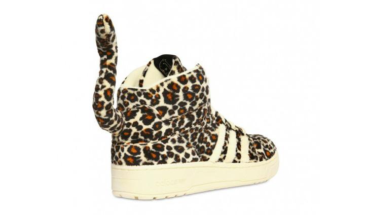 Photo02 - adidas Originals x Jeremy Scott Leopard Tail Sneakers