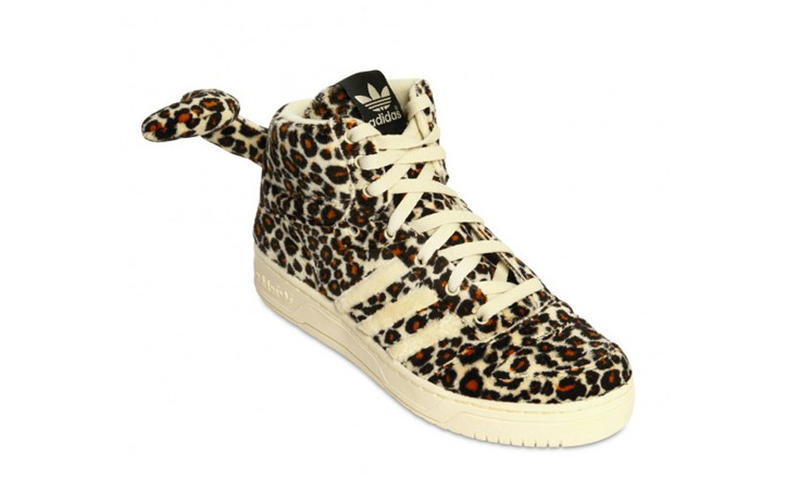 Photo03 - adidas Originals x Jeremy Scott Leopard Tail Sneakers
