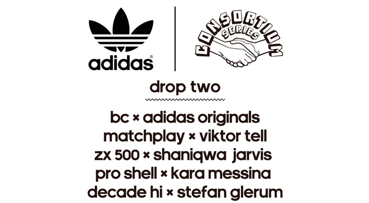 Photo01 - adidas Originals for CONSORTIUM YOUR STORY DROP 2