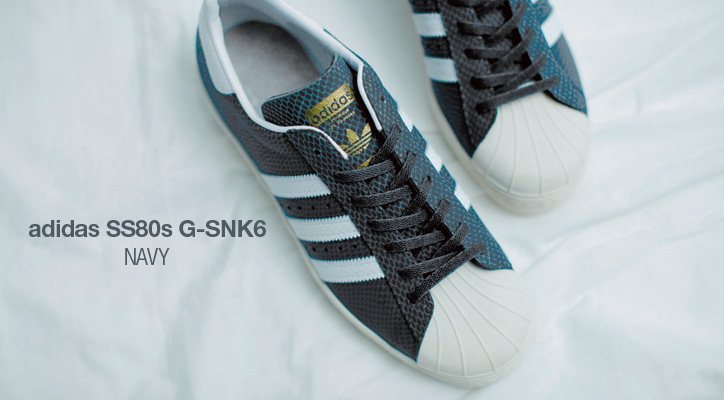 adidas Originals for atmos SS 80's G-SNK 6 先行予約開始