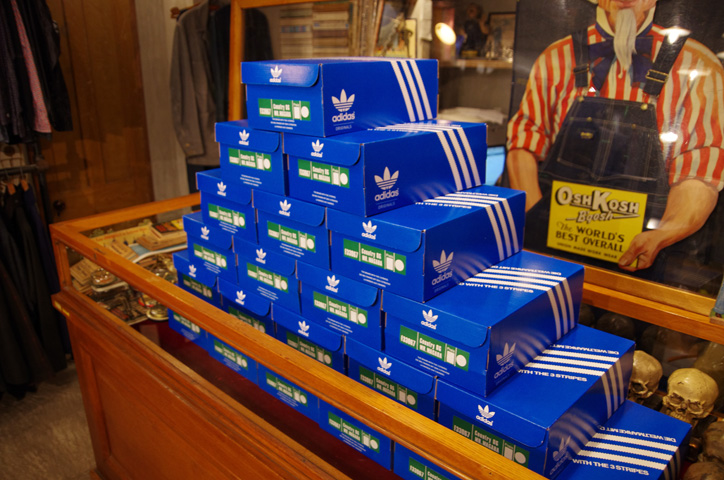 Photo06 - A-1 CLOTHING 真柄氏に「adidas Collectors Project」についてインタビュー