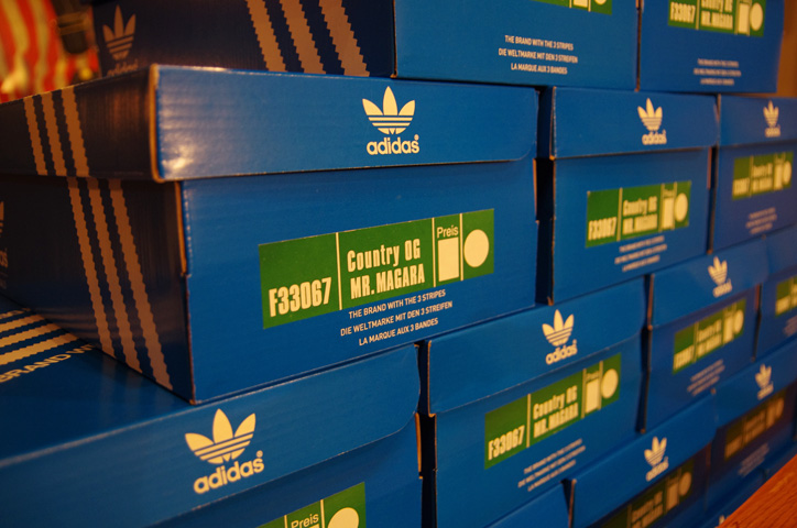 Photo07 - A-1 CLOTHING 真柄氏に「adidas Collectors Project」についてインタビュー