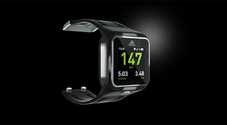 Photo01 - adidasより次世代スポーツウォッチ「miCoach SMART RUN」がついに登場