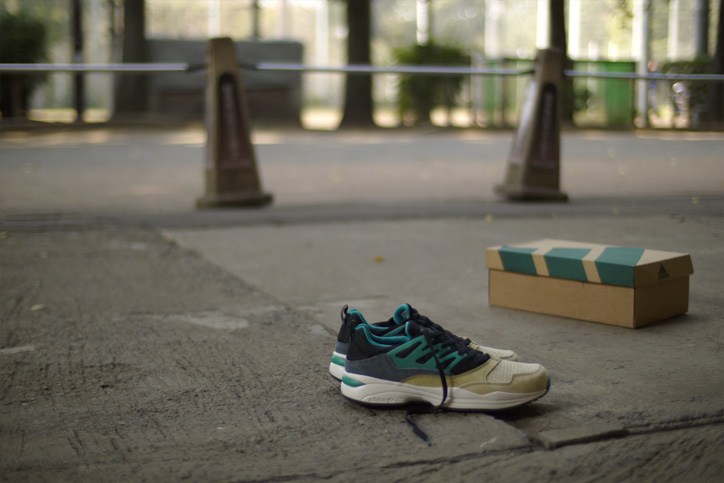 Photo02 - adidas Originals for mita sneakers TORSION ALLEGRA MITAの特集ページを公開