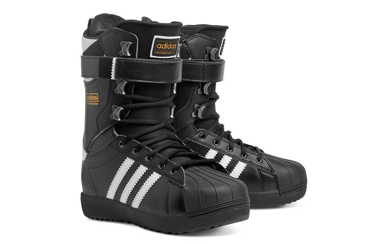 Photo06 - アディダスは、Superstar生誕45周年をセレブレイトしてスノボーディング用にリデザインされたSuperstar Bootを発表