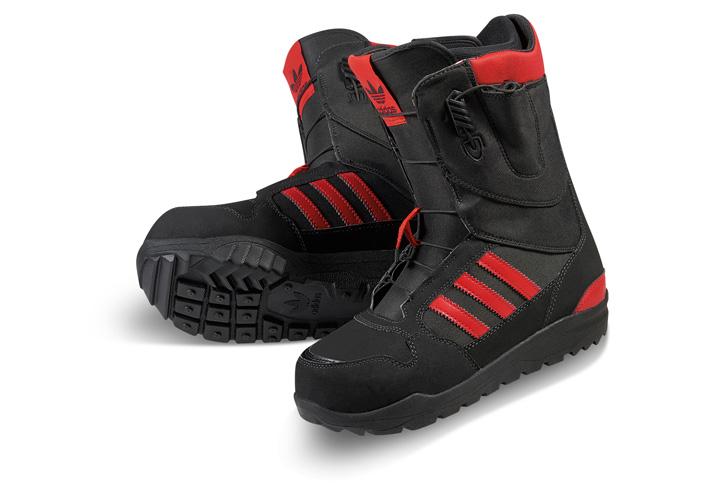 Photo13 - アディダスは、Superstar生誕45周年をセレブレイトしてスノボーディング用にリデザインされたSuperstar Bootを発表