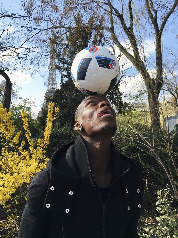 Photo04 - adidas presents Paul Pogba by Jürgen Teller