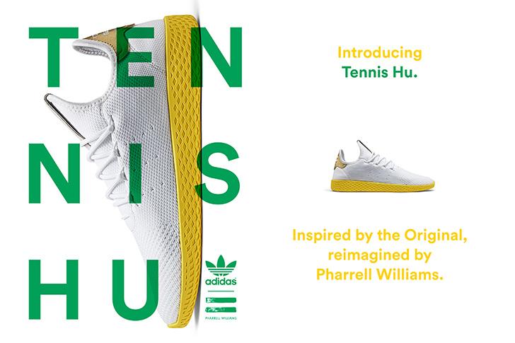 Photo02 - アディダス オリジナルスの名作スタンスミスからインスパイアされた、adidas Originals = PHARRELL WILLIAMS Tennis Huが登場