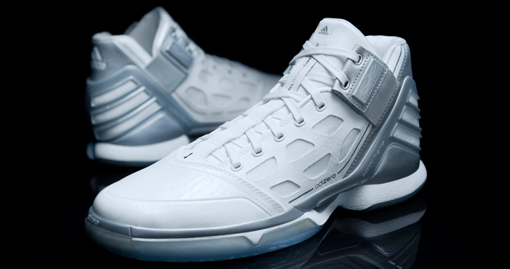 "Photo01 - adidas adiZero Rose 2 ""Silver Lining"""