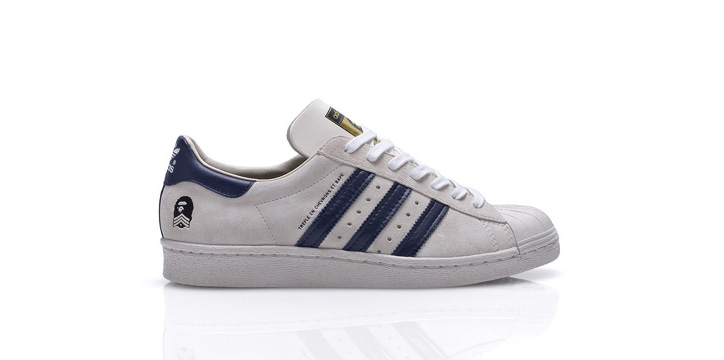 Photo02 - BAPE x adidas Originals Fall/Winter 2011 'B-Sides' Superstar 80s